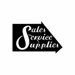 Sales Service Supplies Arrow Sign Signs Home Business Car text Vinyl Decal Sticker Stickers 0039