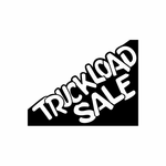 Truckload Sale Sign Signs Home Business Car text Vinyl Decal Sticker Stickers 0043