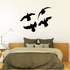 Four Ducks Flying Decal