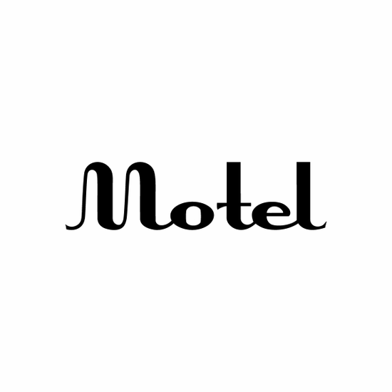 Motel Sign Signs Home Business Car text Vinyl Decal Sticker Stickers 0058