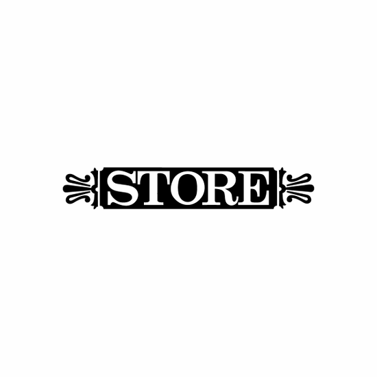 Store Sign Signs Home Business Car text Vinyl Decal Sticker Stickers 0065