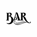 Bar Sign Signs Home Business Car text Vinyl Decal Sticker Stickers 0068