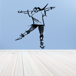 Fitness Wall Decal - Vinyl Decal - Car Decal - Bl036
