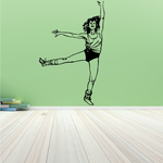 Fitness Wall Decal - Vinyl Decal - Car Decal - Bl039