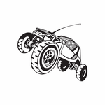 Dune Buggy Wall Decal - Vinyl Decal - Car Decal - DC 005
