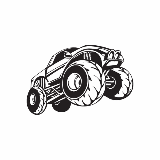 Dune Buggy Wall Decal - Vinyl Decal - Car Decal - DC 011