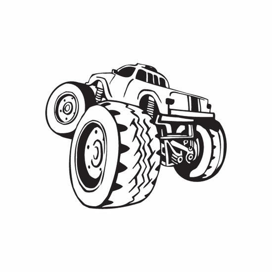 Dune Buggy Wall Decal - Vinyl Decal - Car Decal - DC 015