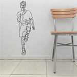 Fitness Wall Decal - Vinyl Decal - Car Decal - Bl048