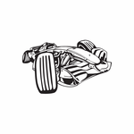 Dune Buggy Wall Decal - Vinyl Decal - Car Decal - DC 018