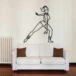 Fitness Wall Decal - Vinyl Decal - Car Decal - Bl049