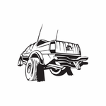 Dune Buggy Wall Decal - Vinyl Decal - Car Decal - DC 019