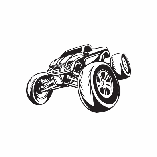 Dune Buggy Wall Decal - Vinyl Decal - Car Decal - DC 020