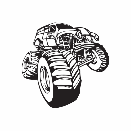 Dune Buggy Wall Decal - Vinyl Decal - Car Decal - DC 021