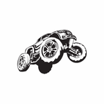 Dune Buggy Wall Decal - Vinyl Decal - Car Decal - DC 025