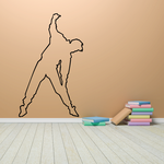 Fitness Wall Decal - Vinyl Decal - Car Decal - Bl053