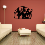 Fitness Wall Decal - Vinyl Decal - Car Decal - Bl055