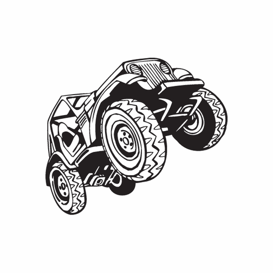Dune Buggy Wall Decal - Vinyl Decal - Car Decal - DC 028