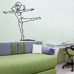 Fitness Wall Decal - Vinyl Decal - Car Decal - Bl058