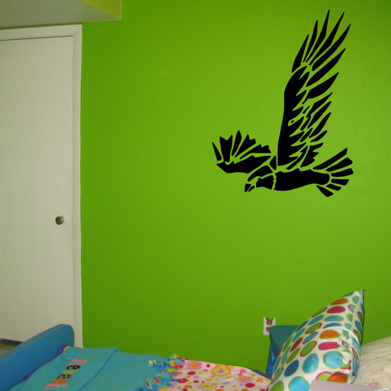 Fearless Flying Eagle Decal