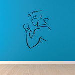 Fitness Wall Decal - Vinyl Decal - Car Decal - Bl076