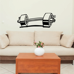 Fitness Wall Decal - Vinyl Decal - Car Decal - Bl086