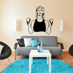 Fitness Wall Decal - Vinyl Decal - Car Decal - Bl090