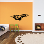 Swooping Fire Eagle Decal