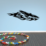 Blazing Fire Flyer Eagle Decal