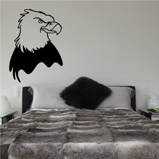 Eagle Looking Decal