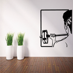 Fitness Wall Decal - Vinyl Decal - Car Decal - Bl102