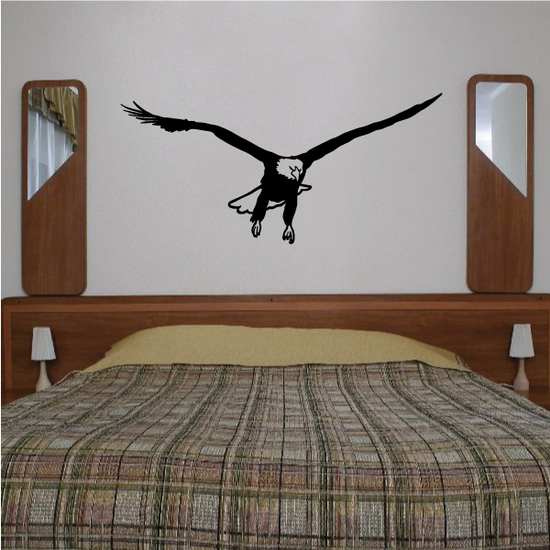 Eagle Ready to Land Decal