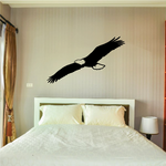 Eagle Soaring Wings Decal