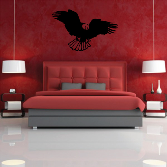 Flapping Eagle Decal