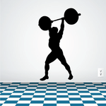 Fitness Wall Decal - Vinyl Decal - Car Decal - Bl111