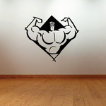 Fitness Wall Decal - Vinyl Decal - Car Decal - Bl112