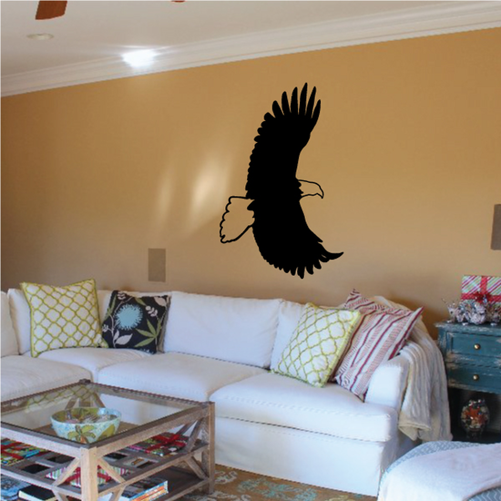 Majestic Eagle Flapping Decal