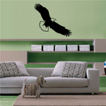 Majestic Eagle Swooping Decal
