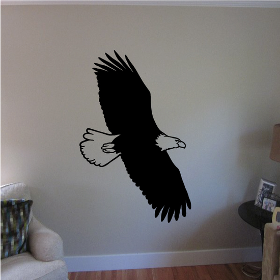 Majestic Eagle Floating Decal
