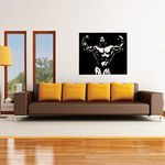 Fitness Wall Decal - Vinyl Decal - Car Decal - Bl118