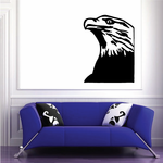 Great Eagle Head Decal