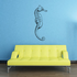 Winged Seahorse Decal