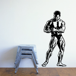 Fitness Wall Decal - Vinyl Decal - Car Decal - Bl133