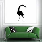 Egret Looking Decal