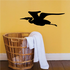 Egret Flying Decal