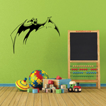 Leaping Bat Decal