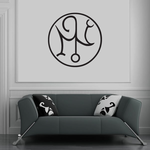 Egyptian Figure Symbol Decal