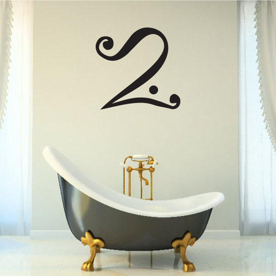 Egyptian Curved Symbol Decal