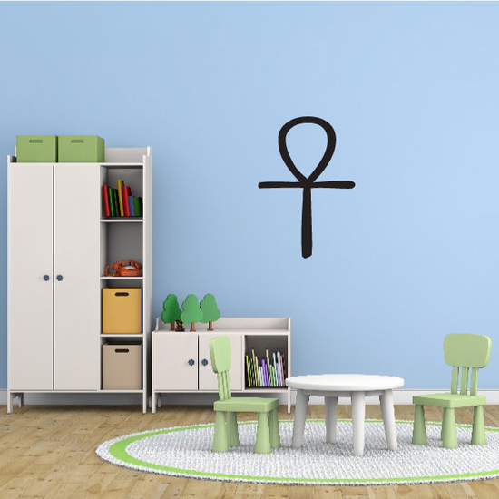 Egyptian Small Ankh Decal