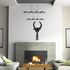 Egyptian Bull Symbol Decal