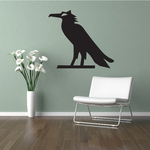 Egyptian Raven Wall Decal - Vinyl Decal - Car Decal - AL31